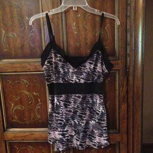 Eight-Sixty Printed Camisole